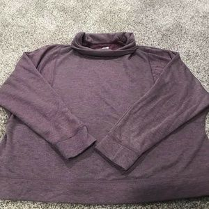 AVIA Plus Size Active Cowl Neck Pull Over 3X